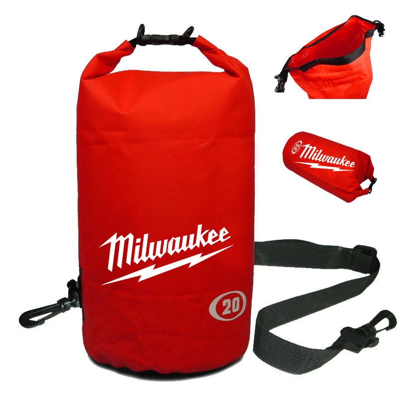 Waterproof 20L Red Dry Bag with One Should Strap