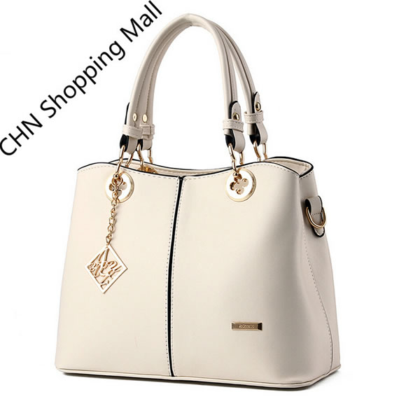 Best Selling Beige PU Leather Hand Bag