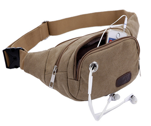 Heavy Duty Canvas Waist Bag