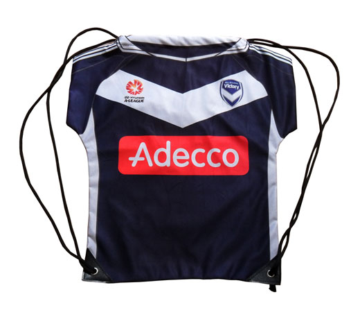 Promotional T-shirt Jersey Drawstring Backpack Bag