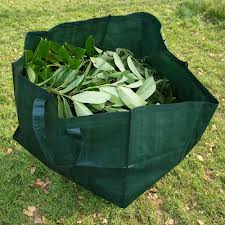 PE Fabric Folding Leaf Collection Garden Waste Bag