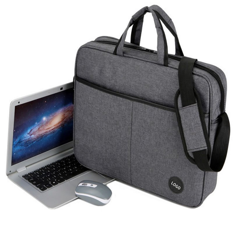 Wholesale Fasion Custom Grey Laptop Briefcase Bag