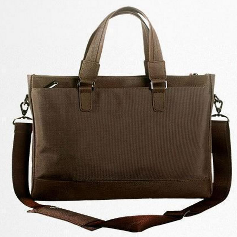 Brown 15.6 Laptop Briefcase Messenger Bag