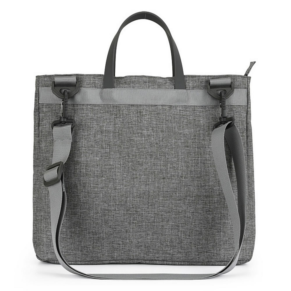 Best Selling Grey Men Shoulder Tote Business 12.5 Inch Computer Bag