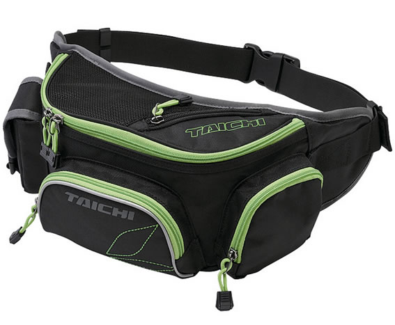 Fashional Black Polyester Waist Pack