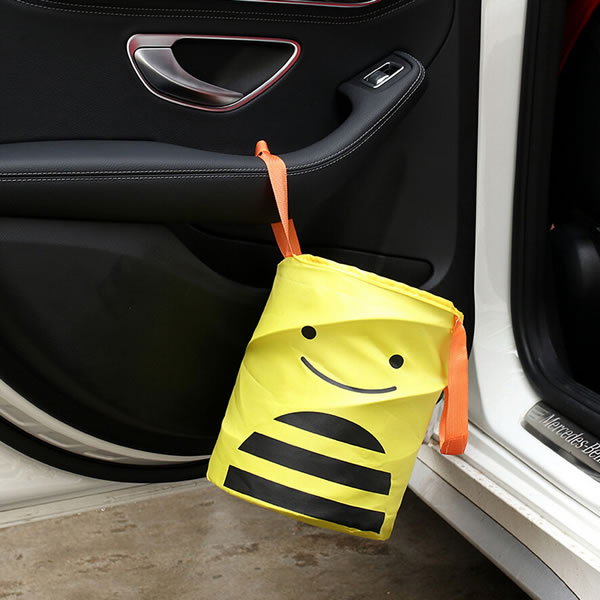 Cartoon Car Storage Hamper Organizer