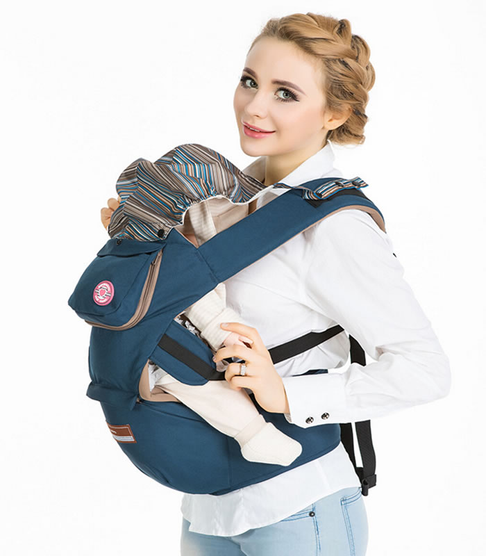 Cotton Hip Seat Baby Carrier, Perfect for Toddlers, Babies and Infants