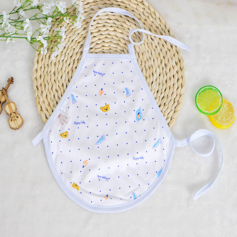 Funny Soft Cotton Infant Baby Bib