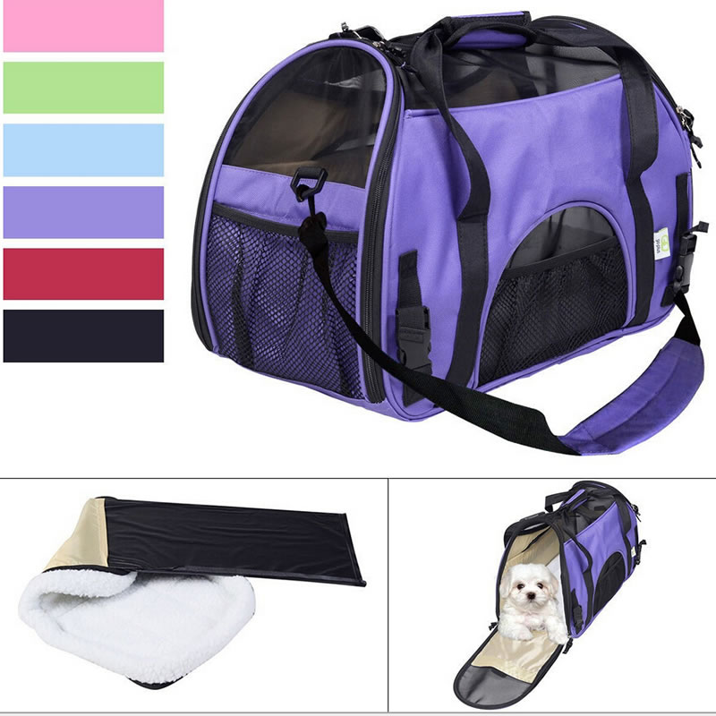 Foldable Portable Car Pet Tote Bag