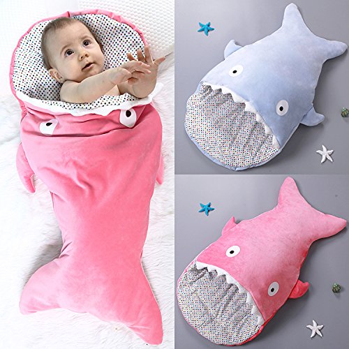 Shark Shaped Baby Bunting Bag Baby Sleeping Bag