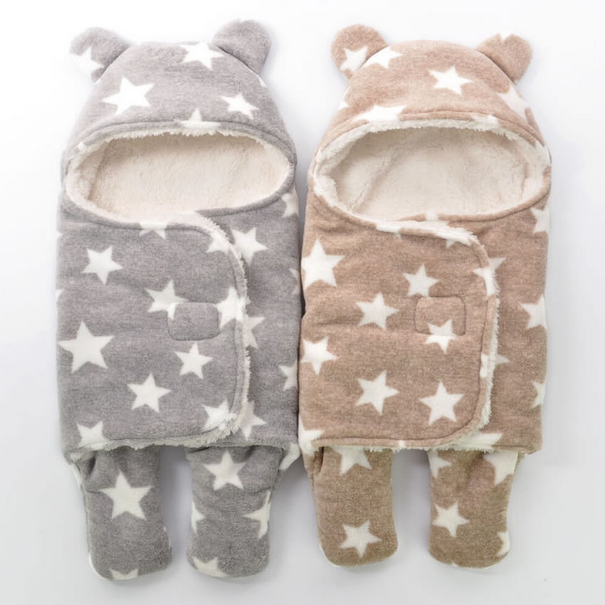 Cartoon Bunting Bag Infant Baby Sleeping Bag