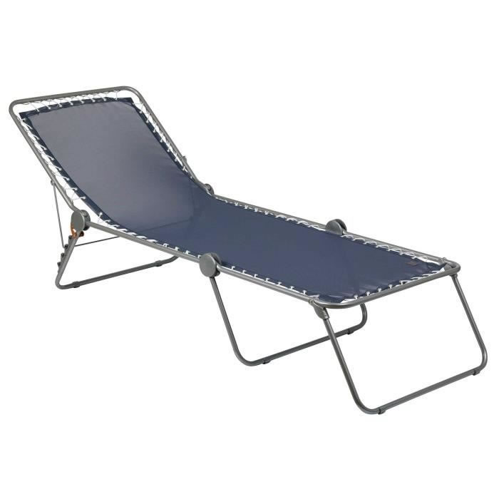 Foldable Camping Cot Beach Lounge Chair Bed