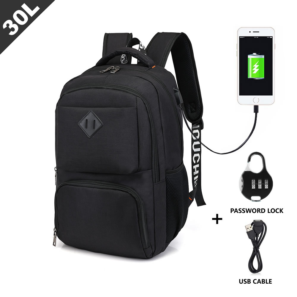 Travel Laptop Backpack - Slim Durable Business Laptops Backpacks/Daypacks/Knapsacks/Rucksacks with L