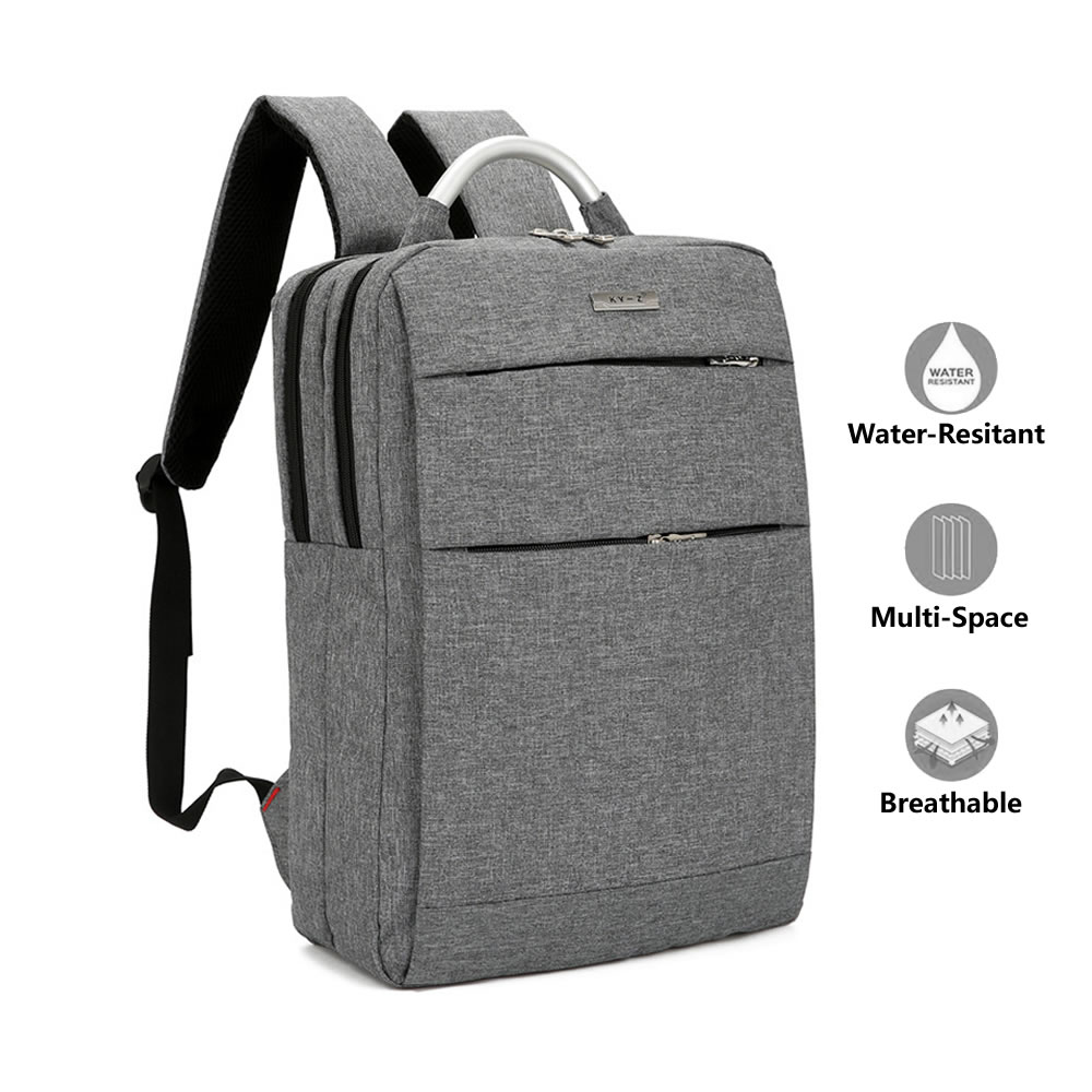 Laptop Backpack, Lightweight Slim Business Computer Backpacks, Water Resistant Laptops Knapsacks